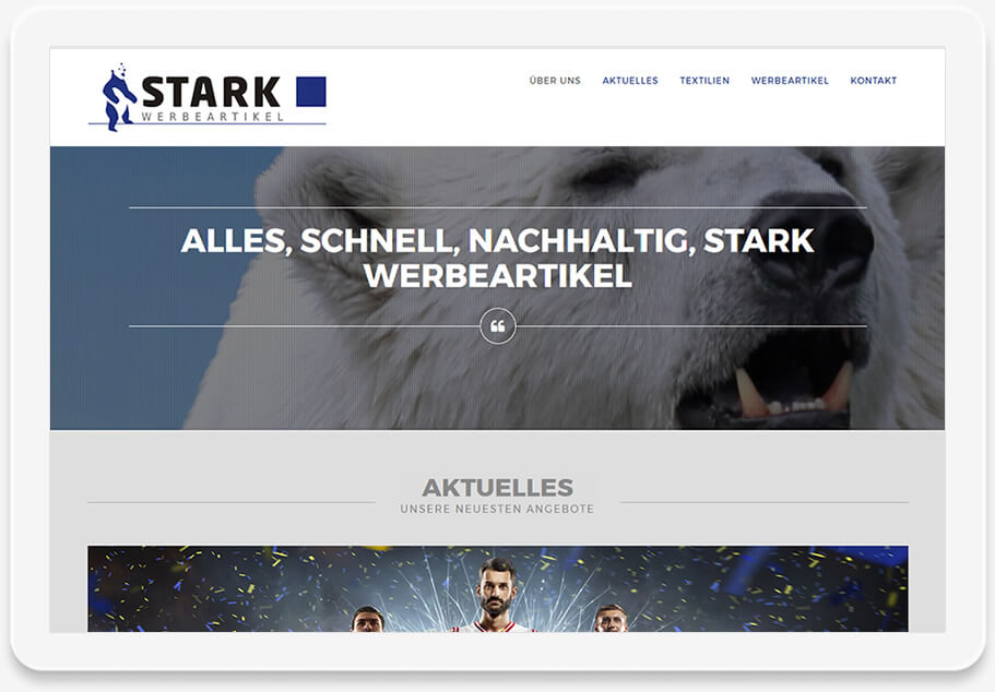 Referenz Website - Stark