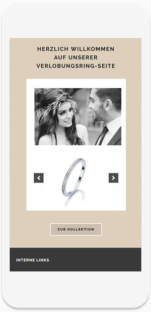 Juwelier Hunke - Verlobungsring-Seite