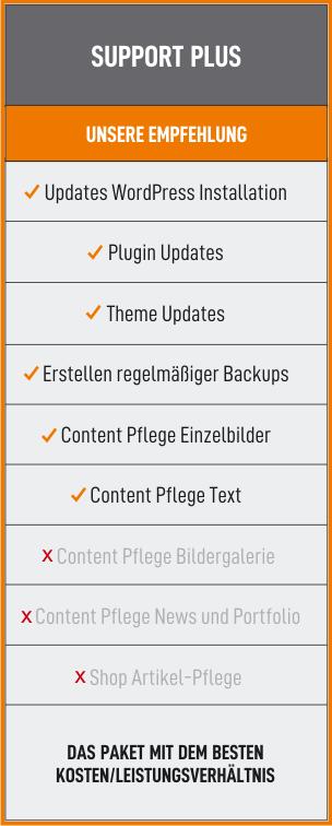 Support Paket Plus
