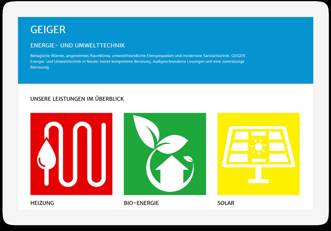 Screen Desktop Geiger