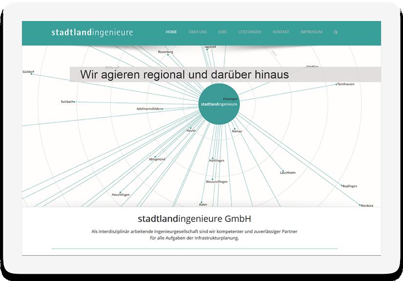Referenz Stadtlandingenieure 44media