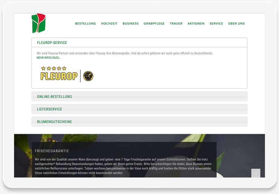 Referenz Website - Widmann