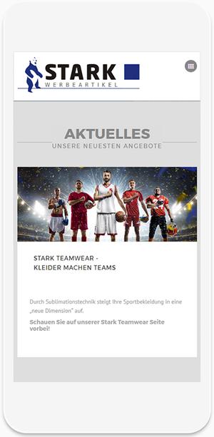 Referenz Website - Stark