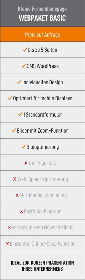 Webpaket Basic 44media