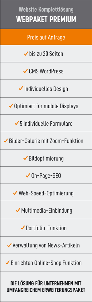 Webpaket Premium 44media